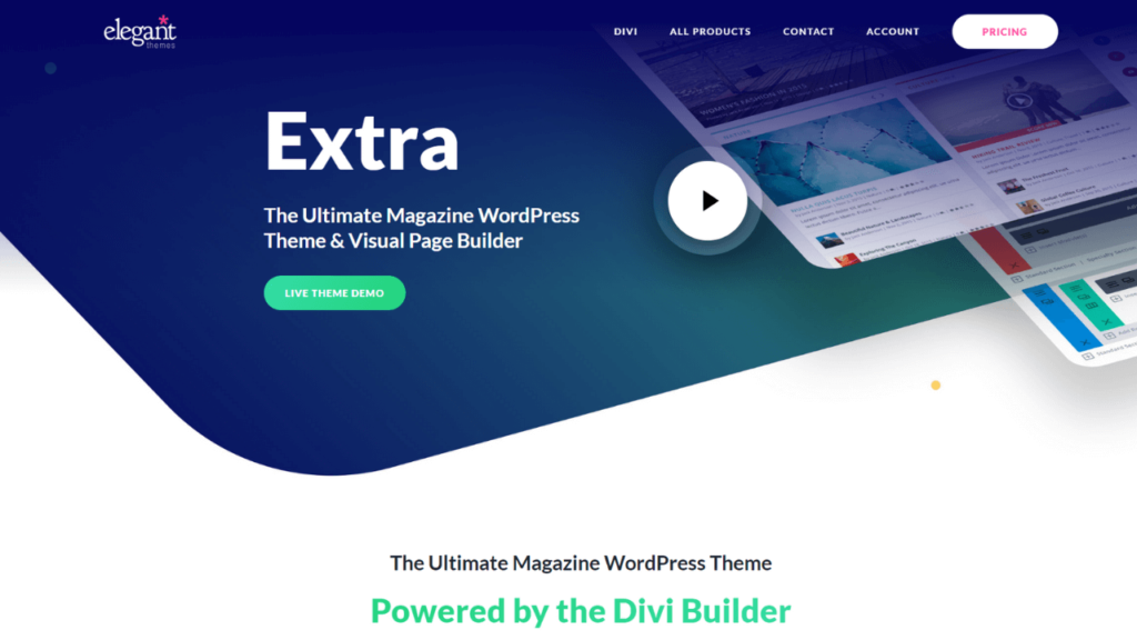 Extra The Ultimate Magazine WordPress Theme