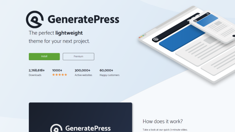 GeneratePress Premium Lightweight Responsive WordPress Theme