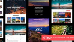 Grand Tour Travel Agency WordPress Theme