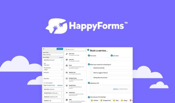 HappyForms Pro Drag and Drop Contact Form Builder