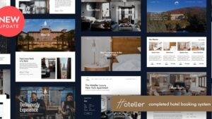 Hoteller Best Hotel Booking WordPress Theme