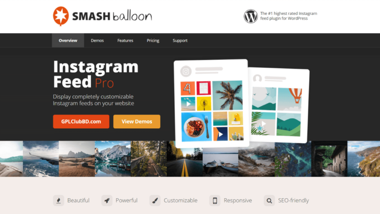 Instagram Feed Pro Instagram Feeds WordPress Plugin