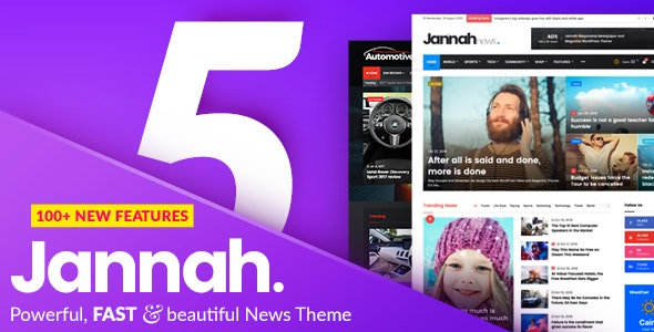 Jannah Newspaper Magazine News BuddyPress AMP 5