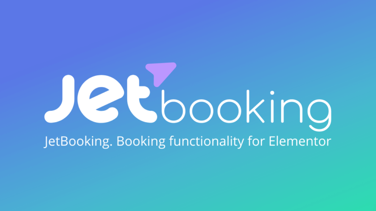 JetBooking Booking plugin for Elementor