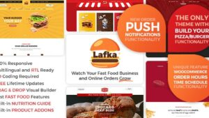 Lafka WooCommerce Theme for Burger & Pizza Delivery