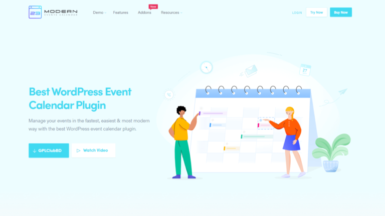 Modern Events Calendar Pro WordPress Event Calendar Plugin