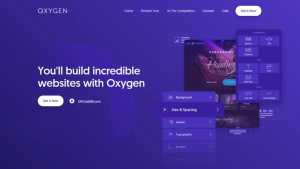 Oxygen The Ultimate Visual Site Builder Best Plugin