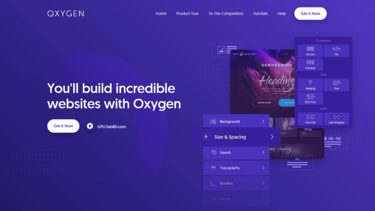 Oxygen The Ultimate Visual Site Builder Best Plugin