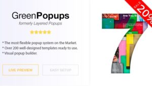 Popup Plugin for WordPress Green Popups