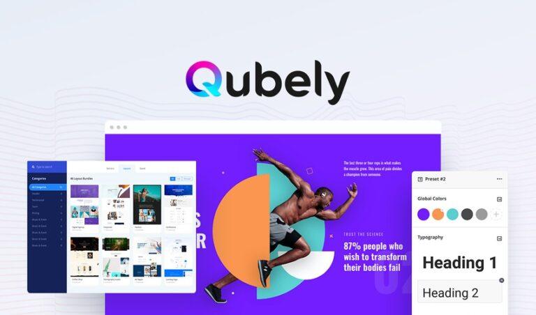 Qubely Pro 1.2.1 Best Gutenberg block editor Plugin