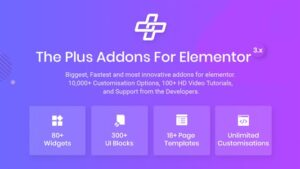 The Plus Addon for Elementor Page Builder WordPress Plugin