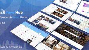 TownHub Directory & Listing WordPress Theme