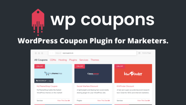 WP Coupons WordPress Coupon Plugin for Marketers.