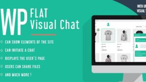 WP Flat Visual Chat Live Chat & Remote View for Wordpress