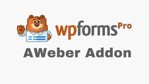 WPForms AWeber Addon