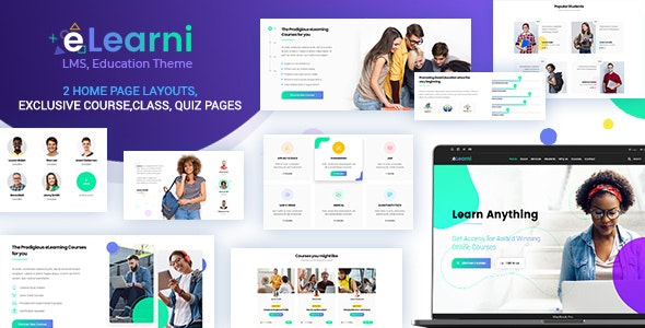 eLearni Online Learning & Education LMS