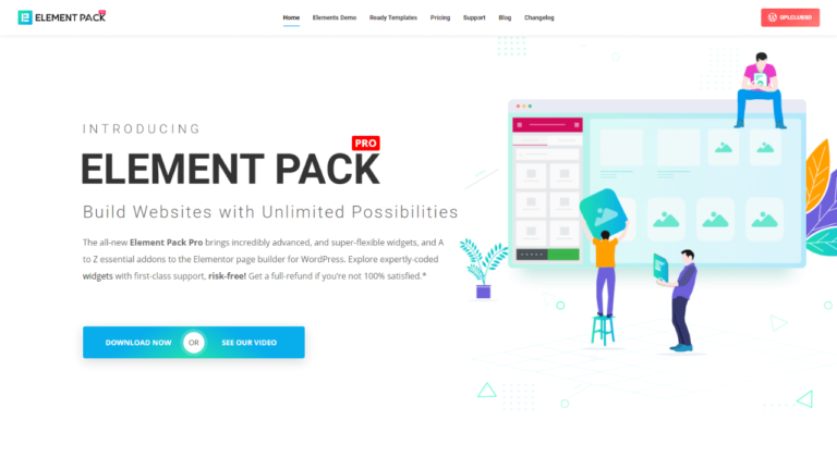 Element Pack Pro Addon for Elementor latest version download