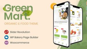 GreenMart Organic & Food WooCommerce WordPress Theme