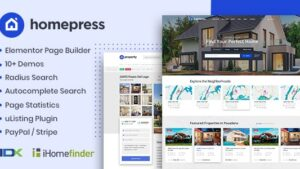 HomePress Real Estate WordPress Theme