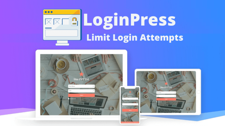 LoginPress Limit Login Attempts Custom Login Page Customizer