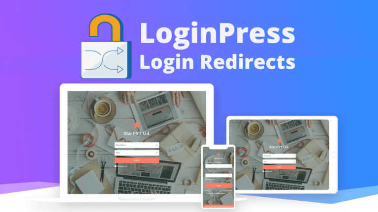 LoginPress Login Redirects Custom Login Page Customizer