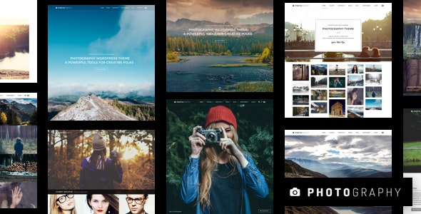 Photography Responsive Photography WordPress Theme