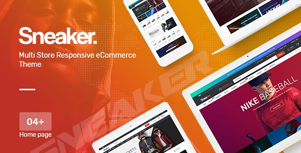 Sneaker Shoes Theme for WooCommerce WordPress