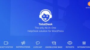 TotalDesk Helpdesk Live Chat Knowledge Base & Ticket System