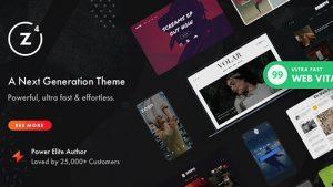 Zeen Next Generation Magazine WordPress Theme 2021