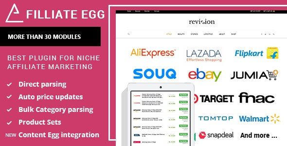 Affiliate Egg Niche Affiliate Marketing Wordpress Plugin