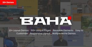 BAHA Responsive Multi-Purpose HTML Template