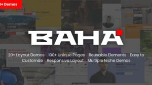BAHA Responsive Multi-Purpose HTML Template