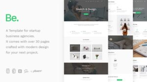Be Startup Business HTML Template