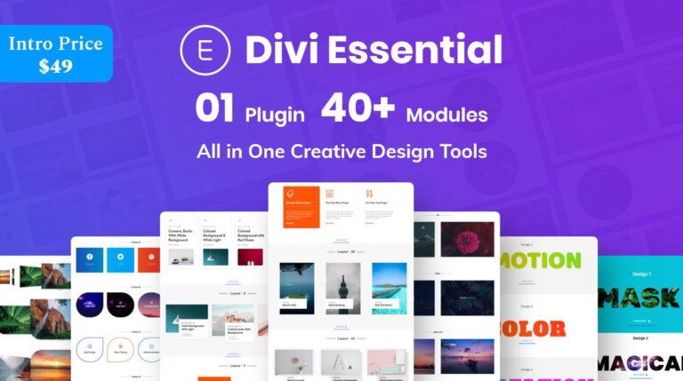 Divi Essential Divi Extension For Next Label Modules