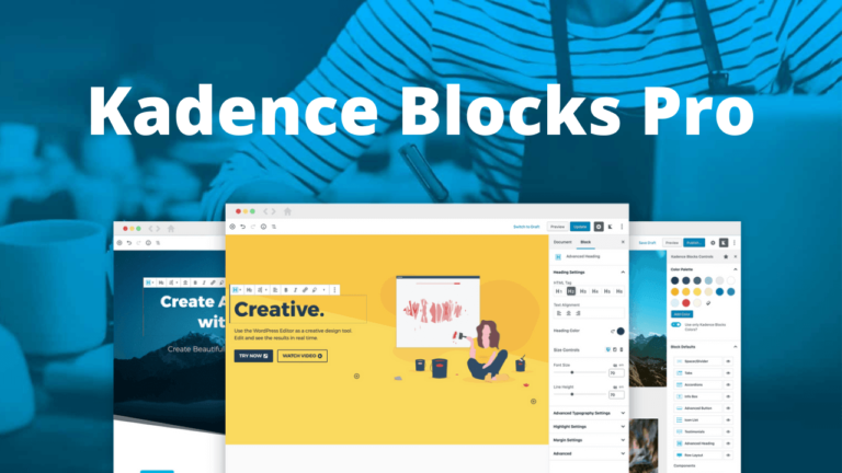 Kadence Blocks Pro WordPress Blocks for Beautifully Effective Websites