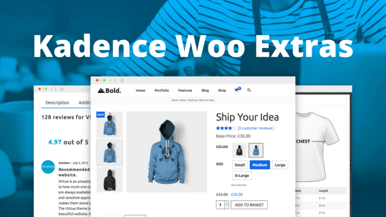Kadence Woocommerce Extras Ultimate Woocommerce Extension