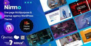 Nimmo One page WordPress