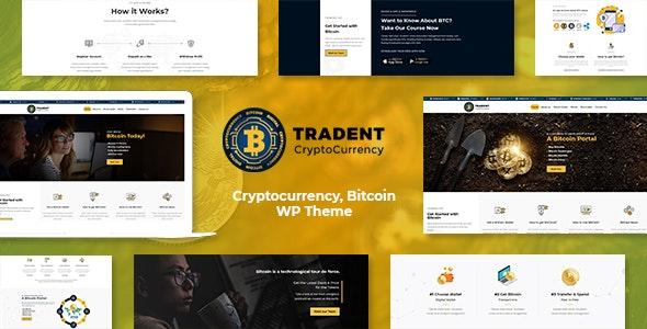 Tradent - Cryptocurrency, Bitcoin WordPress Theme