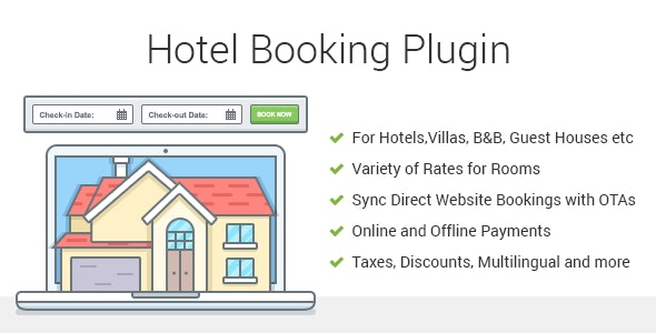 Hotel Booking WordPress Plugin MotoPress Hotel Booking