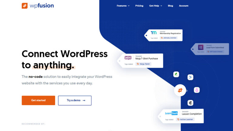 WP Fusion Marketing Automation for WordPress Plugin latest version download