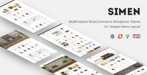 Simen MultiPurpose WooCommerce WordPress Theme