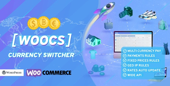 WOOCS WooCommerce Currency Switcher