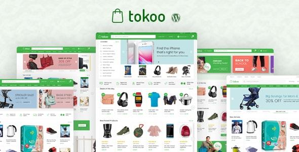 Tokoo Electronics Store WooCommerce Theme