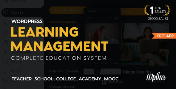 WPLMS Learning Management System for WordPress LMS